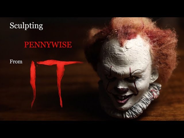 Sculpting Pennywise [IT]   Polymer Clay Tutorial