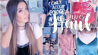 SUPER HAUL! Zara, Pull and Bear, H, Asos, Mango y más! | A Little Too Often