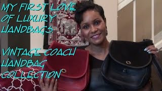 1st Love of Luxury Bags. Vintage Coach Handbag Collection-For Sale?