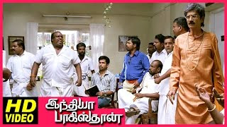 India Pakistan Tamil Movie | Scenes | Sharath Lohitashwa kidnapped Shiny & her lover | Vijay Antony