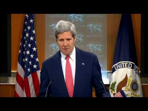 Secretary Kerry Delivers Remarks on Ukraine