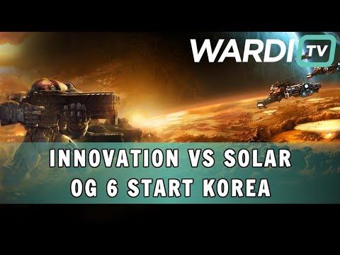 INnoVation vs Solar (TvZ) - OG 6 Start Korea Group B