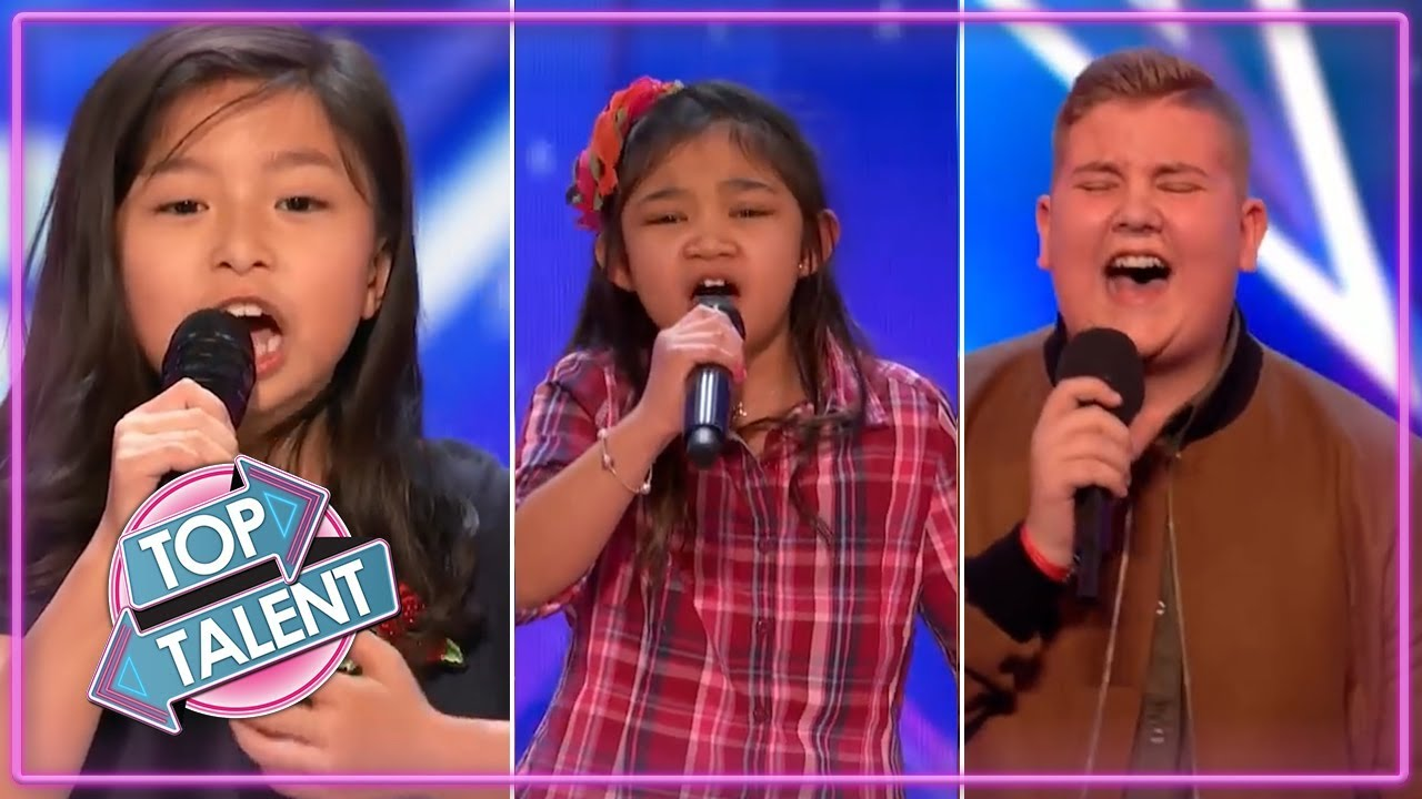 BEST KID SINGER Auditions 2017 On Got Talent - YouTube