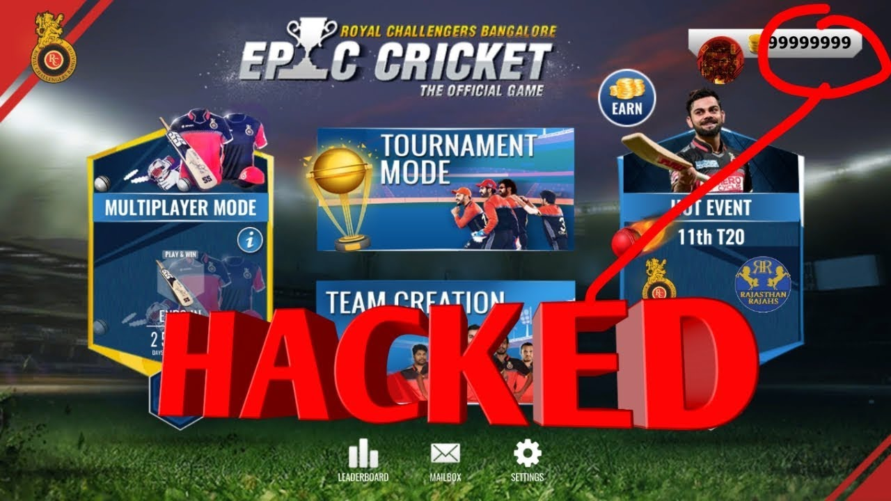 RCB Epic Cricket Mod Apk|Hacked Apk latest|unlimited coins|Download  available!!|