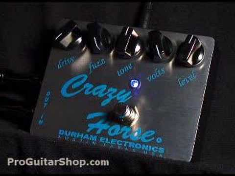 Durham Electronics Crazy Horse Fuzz Distortion Pedal