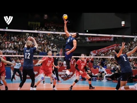 Crazy One-Handed Sets! | Best Of The Volleyball World 2019