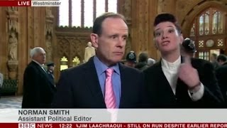 Live BBC News Broadcast Shut Down by UK Parliament
