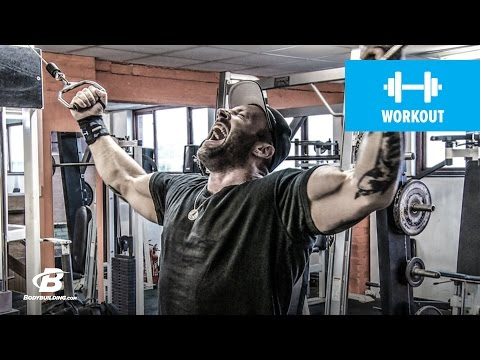 Back and Biceps Workout | Kris Gethin's 4Weeks2Shred | Day 8