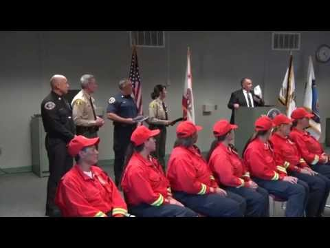 San Bernardino County Graduates First Female Fire Hand Crew