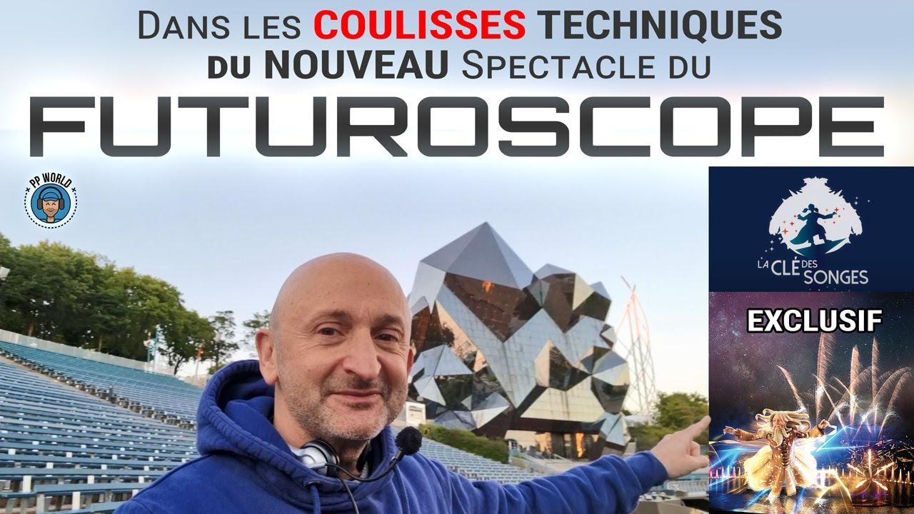 Dans les hallucinantes COULISSES du Nouveau Spectacle du FUTUROSCOPE ! (Exclusif !)