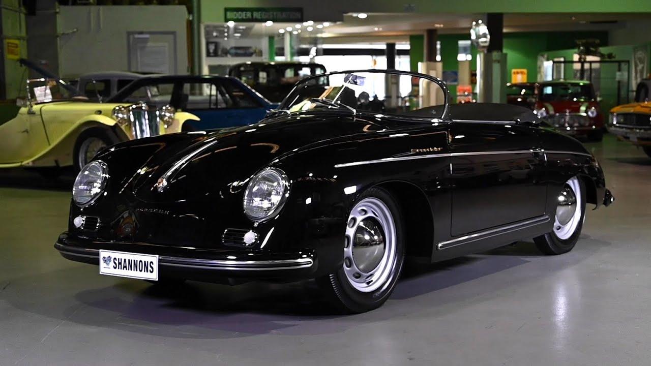 1955 Porsche 356 'Pre-A' Speedster (RHD) - 2020 Shannons Sydney Summer Classic Auction