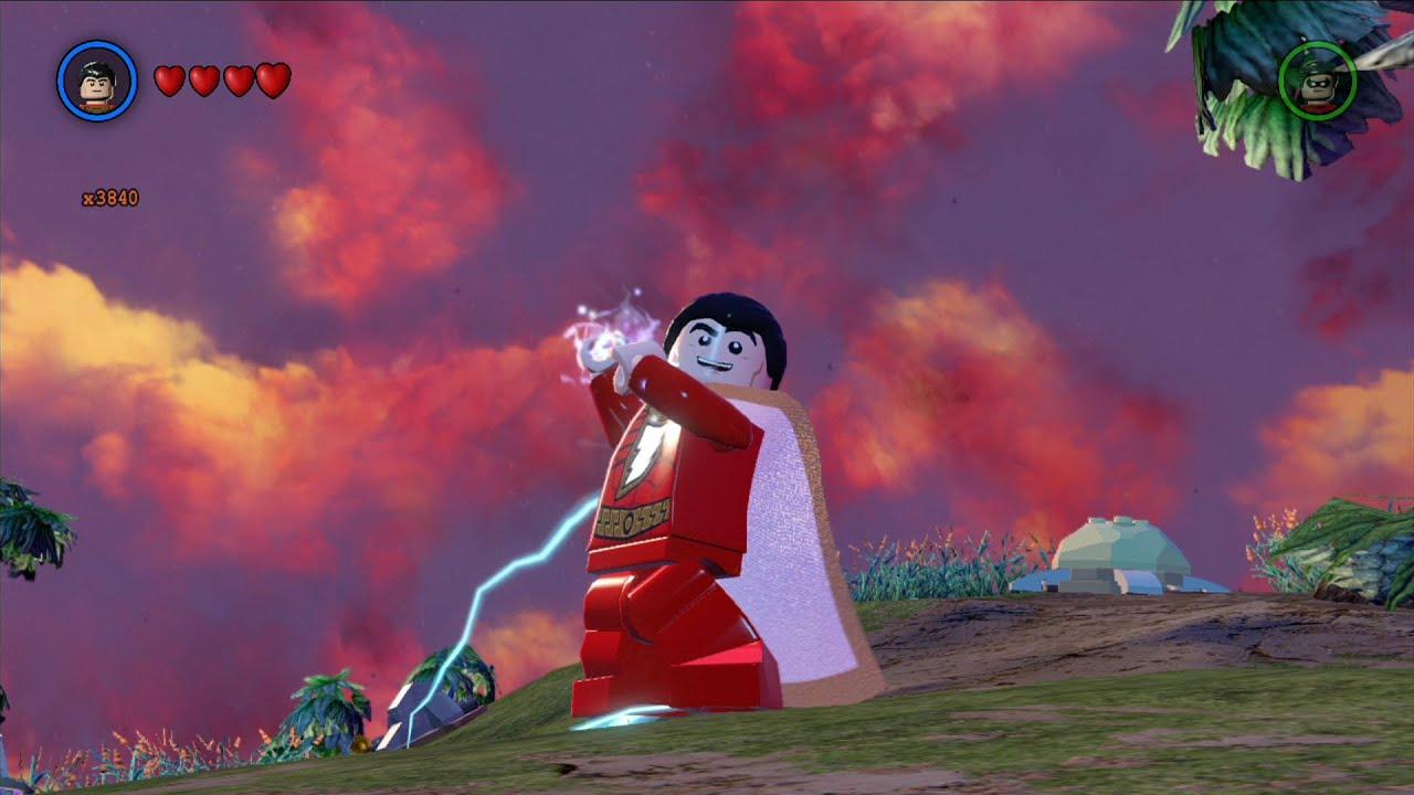 captain marvel lego batman 3