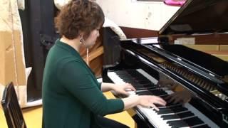 ピアニスト石田綾の即興演奏① コードネーム奏法振興会