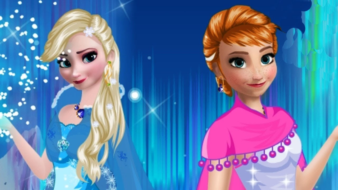Elsa And Anna Frozen 2 Makeup Game Disney Frozen Princess Elsa And Anna Makeup Game For Girls Youtube