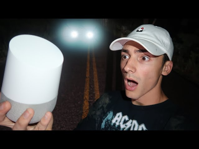 DO NOT TALK TO GOOGLE HOME ON CLINTON ROAD AT 3AM // CLINTON ROAD 3 AM CHALLENGE!