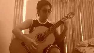 aleluya, wikain mo(cover in classical guitar)
