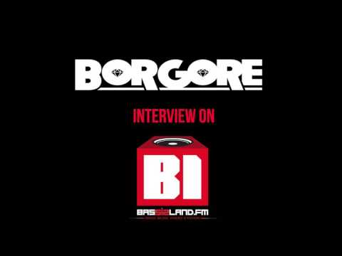 BORGORE interview on BASS ISLAND RADIO
