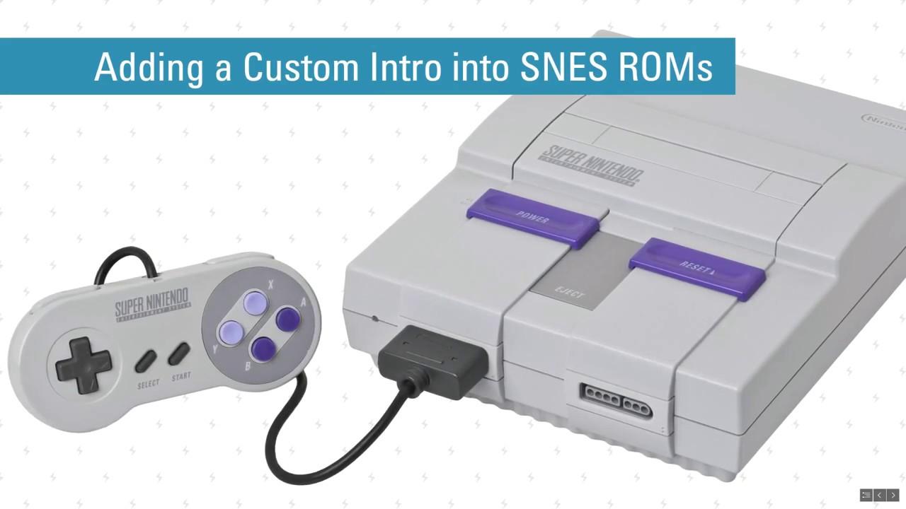 Snes Sfc Rom Hacking Tutorial Adding A Custom Intro Into Snes Roms