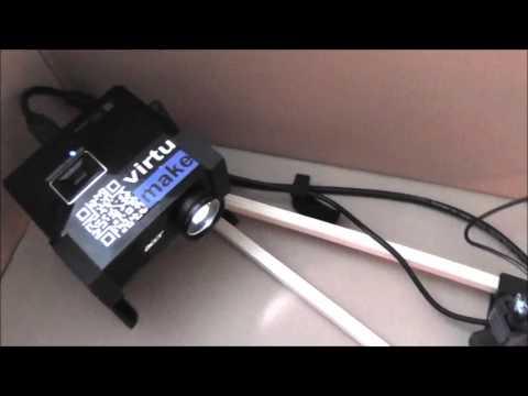 0 - VirtuMake VirtuCube: DIY 3D-Scanner