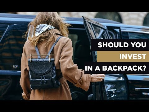 Should You Invest In A Backpack?
