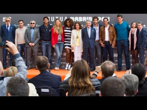 Presentación Mutua Madrid Open 2013 / Mutua Madrid Open 2013 Official Presentation