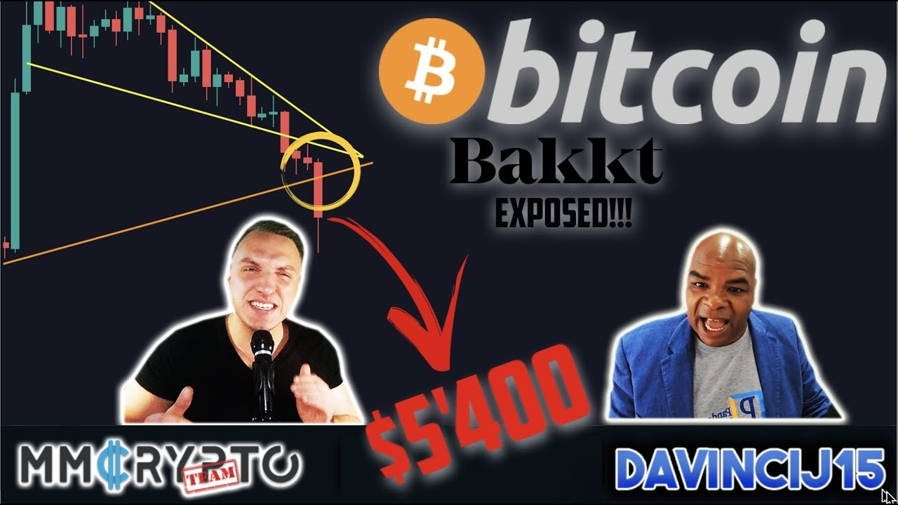 BITCOIN DUMP to $5'400 if THIS Happens!!! DOOM or GLOOM & BAKKT Exposed!!!