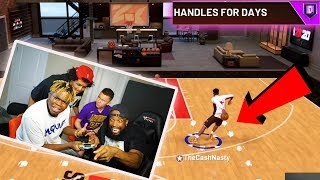 I HIRED AGENT00 & IMDAVISS TO TEACH ME HOW TO DRIBBLE! NBA 2K20 Park