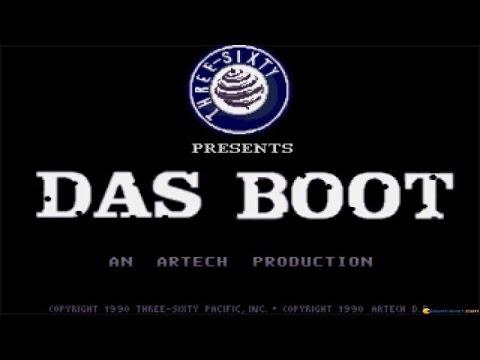 Das Boot - 1990 PC Game, gameplay poster