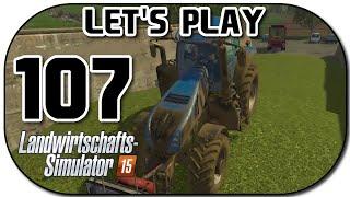 Let's Play Landwirtschafts Simulator 2015 Part 107 Grünes Gold