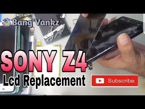 Cara Ganti LCD SONY Z4 DOCOMO |  Sony Z4 Lcd Replacement