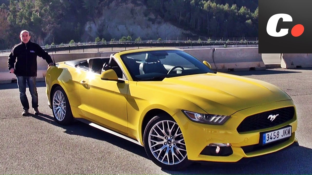 ford mustang cabrio prueba test review en espa ol. Black Bedroom Furniture Sets. Home Design Ideas