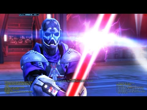 SWTOR Aloysius Kallig vs Darth Baras (Sith Warrior Story Fin