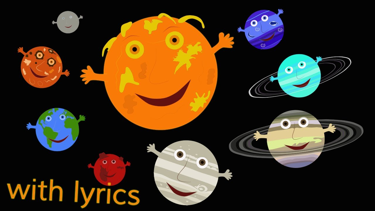 Resultado de imagen de the solar system song for kids