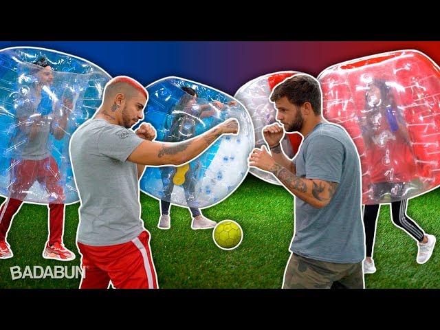 YouTubers VS Fútbol en pelotas…   Oh, y castigo al final