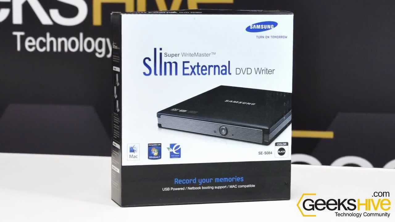 samsung external dvd writer model se-s084d driver windows 7