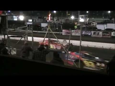 Orange County Fair Speedway Crash