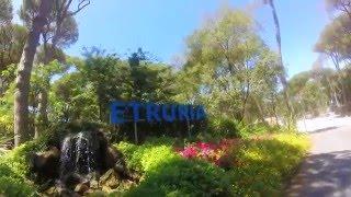Film zomer 2015 op Etruria voor Glamping4all