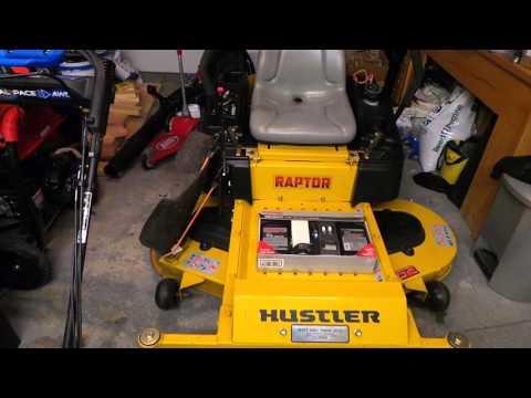 Hydraulic Fluid Change On Hustler Raptor Sd Mower