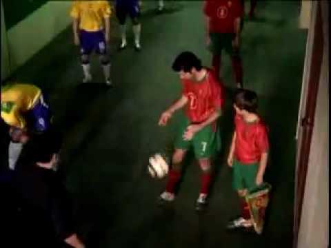 Nike Commercial: Portugal vs Brasil