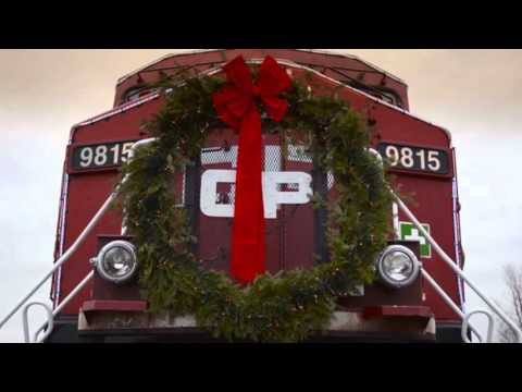 See more footage of the Canadian Pacific Holiday Train travel across North America