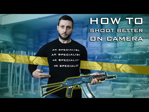 How to shoot better...  on camera 😅