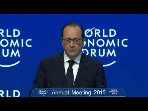 Davos 2015 - Special Address by François Hollande President of France
