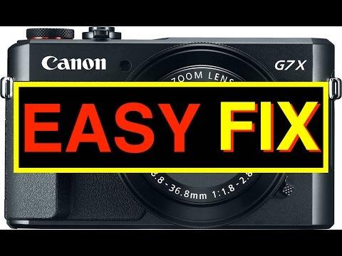 EASY FIX BROKEN CANON G7X CAMERA