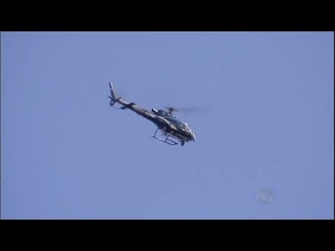 EXCLUSIVO! Imagens mostram helicóptero momentos antes da queda no RJ