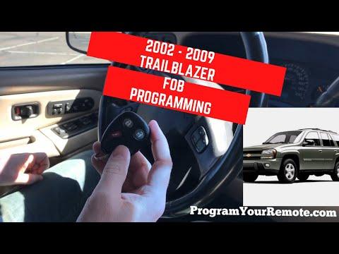 How To Program A Chevrolet Trailblazer Remote Key Fob 2002 - 2009