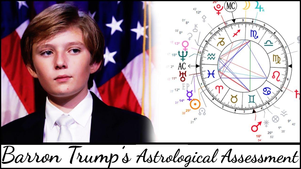 Barron Trump's Astrological Profile (Natal Chart Assessment) - Simona Rich