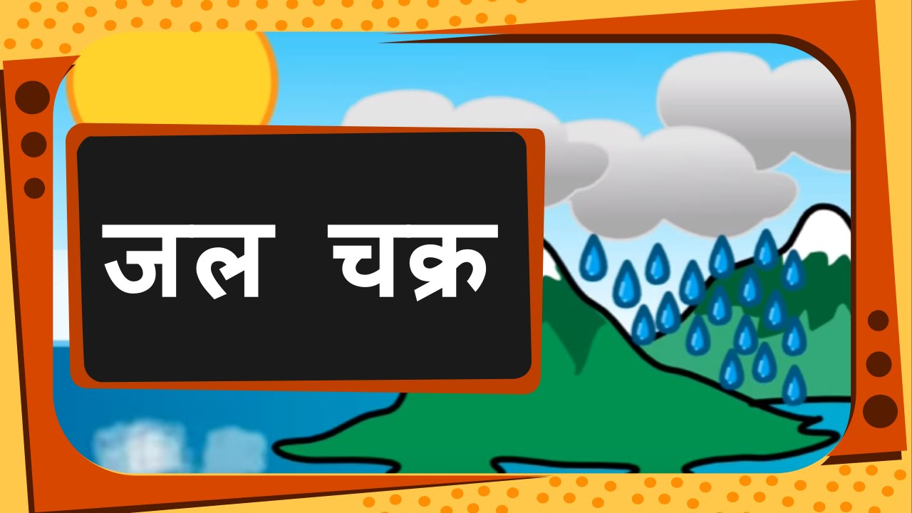 science what is water cycle hindi
