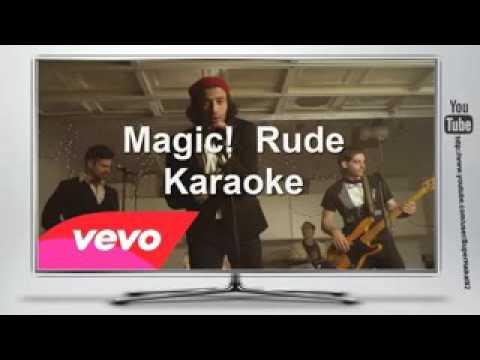 Magic !    Rude Karaoke Instrumental + Free Download + Lyrics