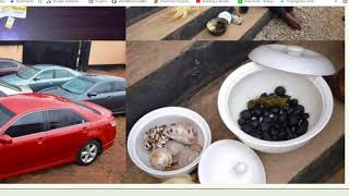 27 YAHOO BOYS CAUGHT INSIDE OOU HOSTEL WITH N18m CASH AND DANGEROUS CHARMS!