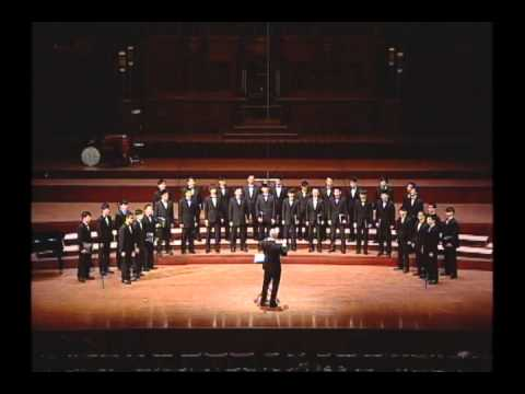 Taipei Male Choir - Deep Water (Stephen Leek)